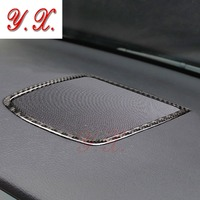 sticker For BMW F10 Interior Carbon Fiber Dashboard Speaker panel decorative Trim for BMW 5 series Car styling