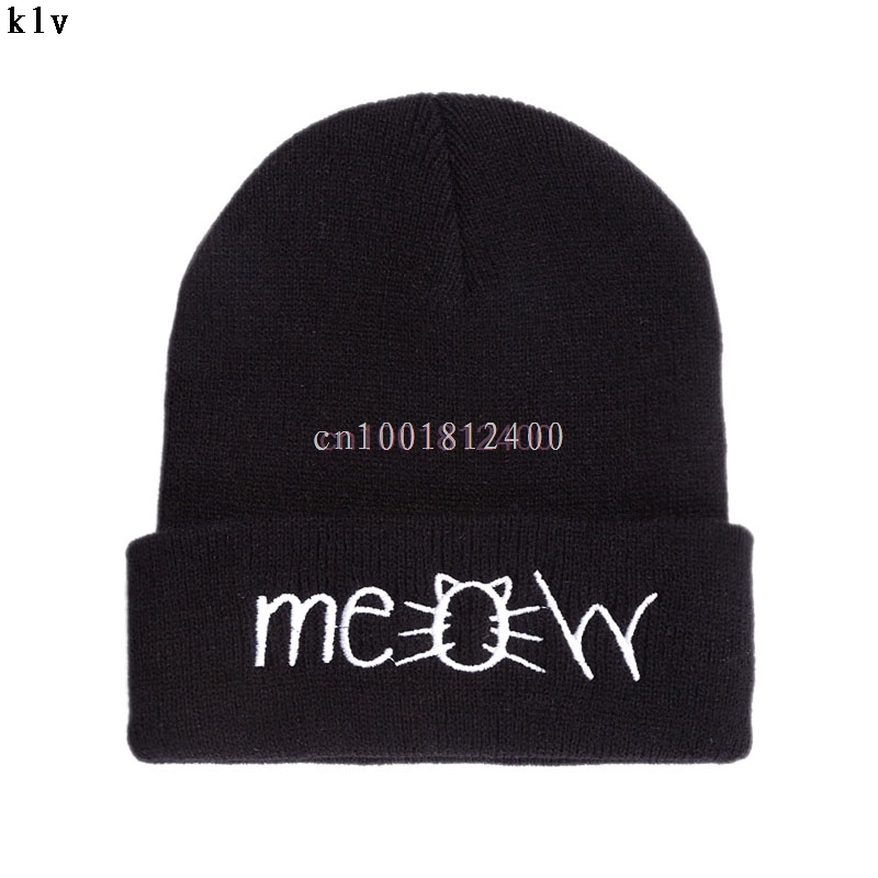 Winter Warm Women Men Knit Crochet Slouch Hat Cap Beanie Hip-Hop Hats Unisex W033 HOT SALE pentacle star warm skull beanie hip hop knit cap crochet cuff winter hat for women men hot sale