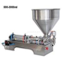 G1WG 500 3000 мл пневматический одной головы Вставить розлива жидких машины крем ногтей соус банка для варенья наполнитель