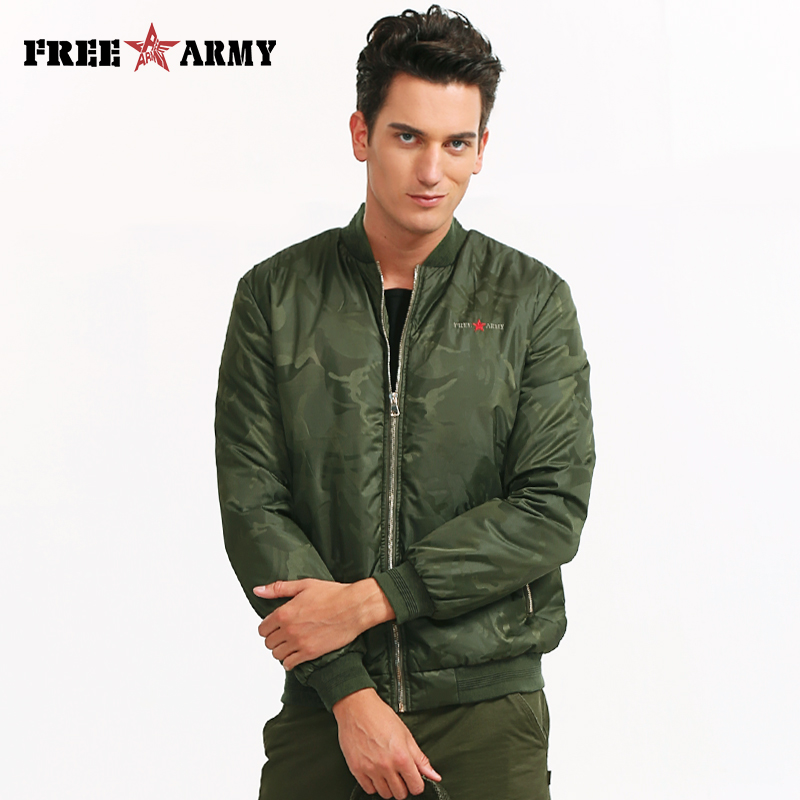 Fashion New Design 2018 Men Jacket Coat Winter Cotton Padded Warm Baseball Uniform Jackets And Coats Male Famous Brand Ms-6323A