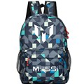 Promotion Teenagers rucksack school bag Logo Messi Backpack Footbal Bag men Boys Travel Gift Kids Bagpack Mochila Bolsas Escolar