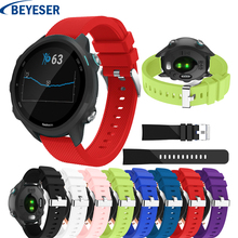 Strap for Garmin Forerunner 245 wristband silicone replacement bracelet straps vivoactive 3 645 Smart band