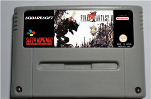 Final Fantasy VI - RPG Game Card EUR Version Battery Save image