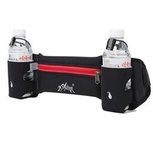 Aonijie profesional corriendo bolso de la cintura botella de agua bolsillos cinturón viajes deportes al aire libre ciclismo escalada cuerpo cintura zip wallet
