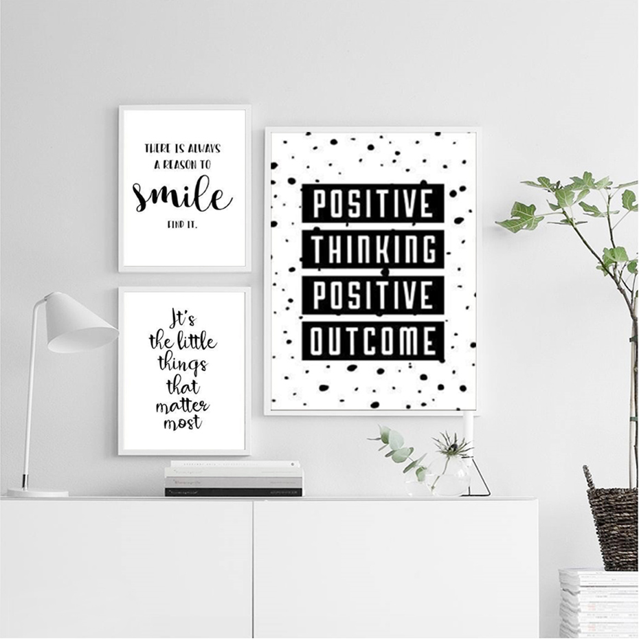 Motivational inspirational quote positive life poster picture print wall art 144