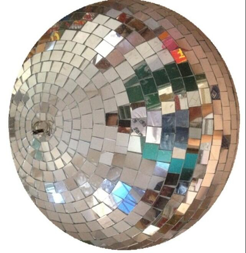 Ballroom Mirror Ball Light Mirror Reflection Glass Ball Stage Festival Hanging Ball With Motor D19CM colorfull light mirror reflection glass ball stage festival hanging ball motor 10inch 19cm