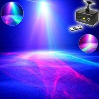 Eshiny 500Mw RGB 5 Lens 80 Patterns Laser Projector Blue Led Club Home Party Bar DJ
