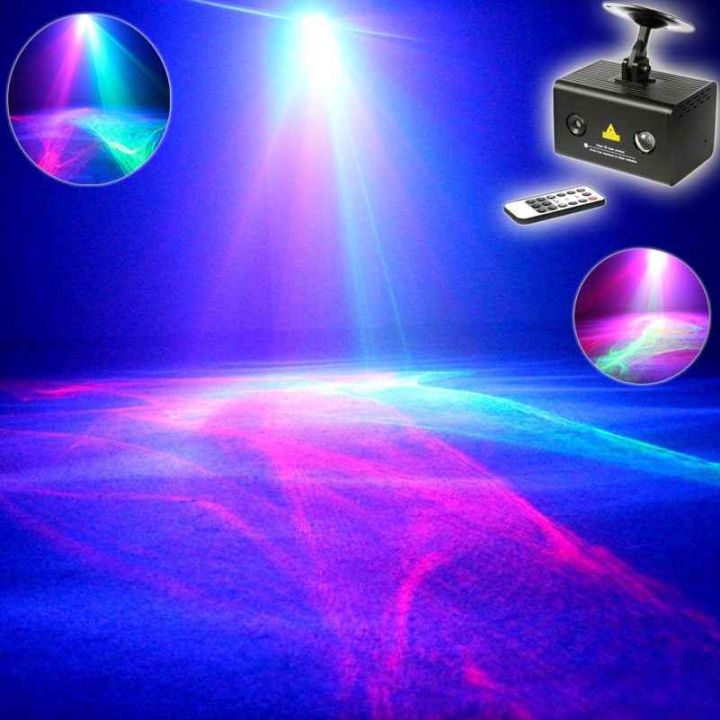 ESHINY MINI R&G Laser Pattern Aurora Water Galaxy Sky Effect Full Color RGB LED DJ Home Party Xmas Bar Dance Effect Light N75T34