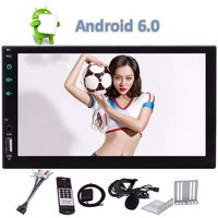 Eincar 7 Inch Auto Radio Double 2 two Din Car Stereo Android 6.0 Quad Core GPS Navigation 1080P Video Play Bluetooth WIFI,FM/AM