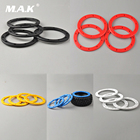 4pcs 1/10 Clips Bead Lock Rings for 1/10 Big Foot Ruggy Short Course Car Hubs and Wheels RC Car Model Accessories