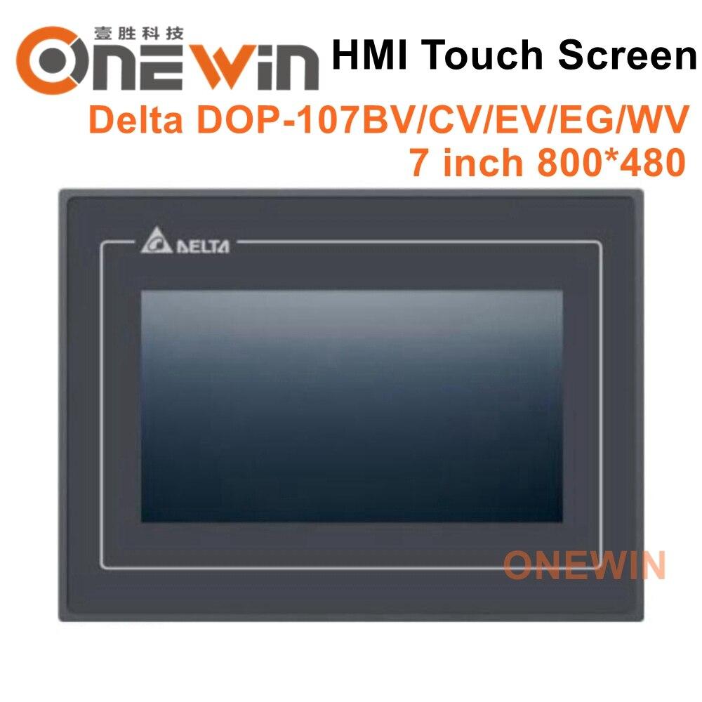 Delta DOP-107BV DOP-107CV DOP-107EV HMI écran tactile 7 pouces 800*480 affichage de l'interface de la Machine humaine