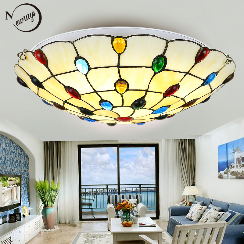 Modern Nordic glass ceiling lamp LED with 2 lights simple vintage art deco ceiling lights for living room hotel bedroom lobbyModern Nordic glass ceiling lamp LED with 2 lights simple vintage art deco ceiling lights for living room hotel bedroom lobby