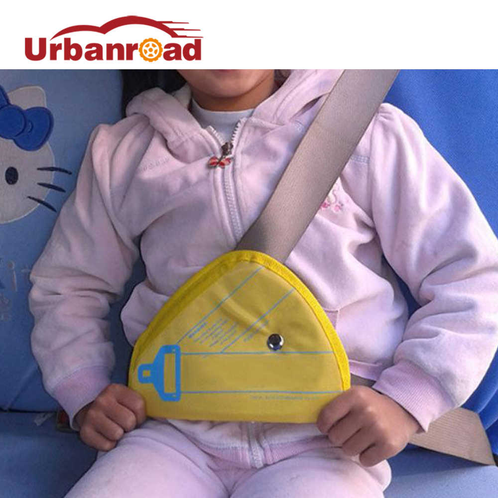 เด็กเด็กรถที่นั่งความปลอดภัยเข็มขัดอัตโนมัติที่นั่งอุปกรณ์เข็มขัดa djusterที่ครอบคลิปสายสนับสนุนเทียมแผ่นสำหรับVWออดี้