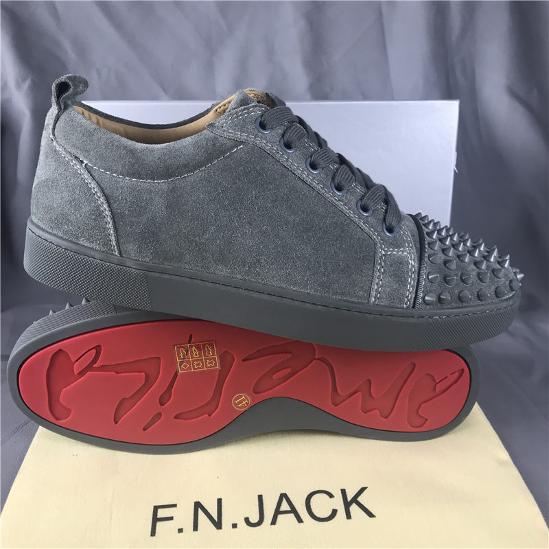 Herren FNJACK Wildleder Louis Junior Studed Turnschuhe Fashion Brand - Herrenschuhe - Foto 3