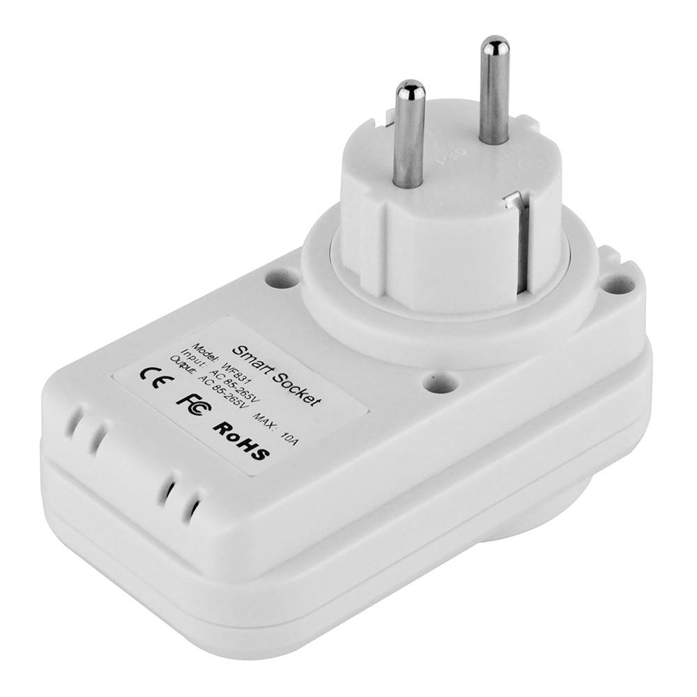 bilder für Vstarcam WF831 Eu-stecker Smart WiFi Steckdose Stecker Intelligente Home Control Mit Telefon APP Fernbedienung-Weiß
