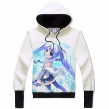 Cartoon Hatsune Miku Vocaloid Hoodie Hoody Coat  Teens