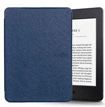 Dla capa amazon kindle paperwhite 1/2/3 skrzynki pokrywa wyjątkowo cienki futerał dla Tablet 6 cal powłoki ze snem