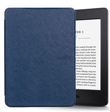 Para capa amazon kindle paperwhite 1/2/3 funda cubierta Ultra delgada para tableta carcasa de 6 pulgadas con sueño(China)