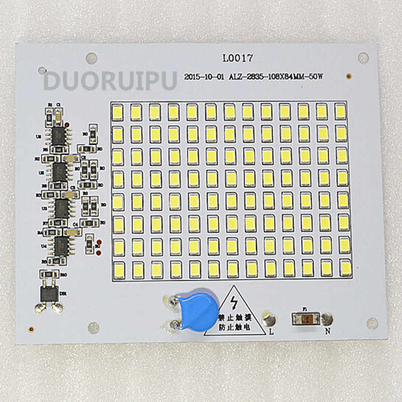 10w/20w/30w/50w LED floodlight Module high quality SMD2835 LED  AC175-265V LED bulb Lamp White6000-6500k