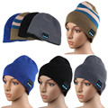 Detachable Portable Knitted Warm Hat Wireless Bluetooth Smart Cap Headset Headphone Speaker Mic Microphone Fashion Wholesale