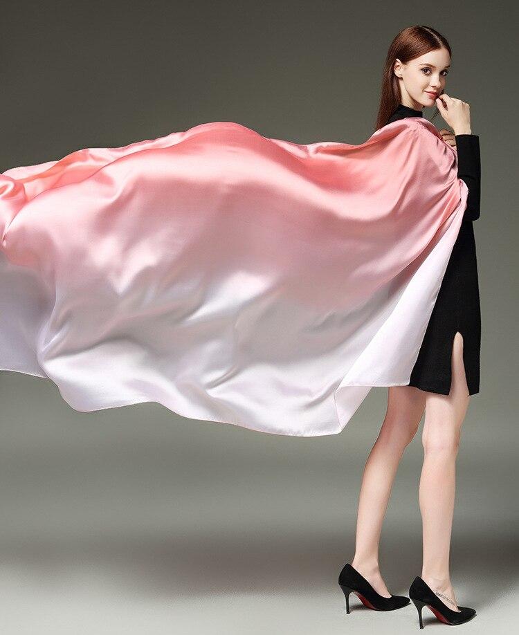 Hijab scarf silk long 180 cm * 110 cm brand shawl w