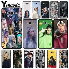 Yinuoda Billie Eilish Soft Silicone TPU Phone Cover case For Samsung Galaxy j7 2017 prime j8 j2 j4plus j6plus 2018cases