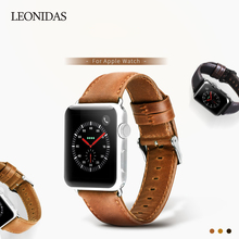 Original Genuine Leather Strap for Apple Watch Band 42mm 38mm Cowhide Bracelet for iWatch Series 1 2 3 Vintage Watchbands