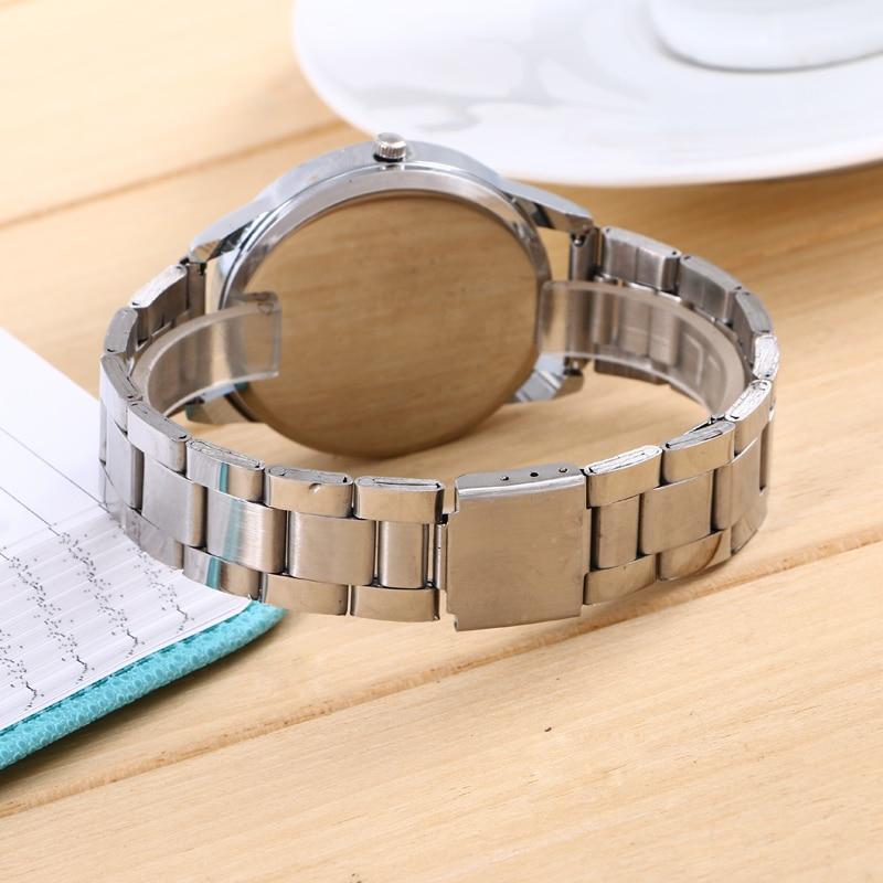 c6afbbd845c Rose gold watch women luxury brand hot CH men and women watch gift to girls  all stainless steel Rhine jadeite bearing watch-in Quartz Watches from  Watches ...