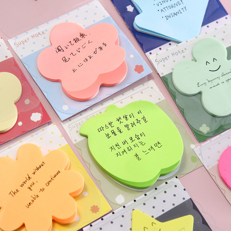 Memo Pad Note Book Korean Stationery Sticker Lovely Candy Color Sticker N Note This Post School Office Supplies