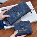 2016 New Arrival Fashion Women Wallet Retro Female Purse PU Zipper Wallets Short Design Clutch Femininas Brand Card Holder Gift