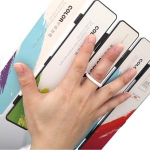 Image 5 - Yeni 18/38/58 renk kat düz suluboya boya seti ile boya fırçası ve hediyeler kutu suluboya Pigment boyama su renkler