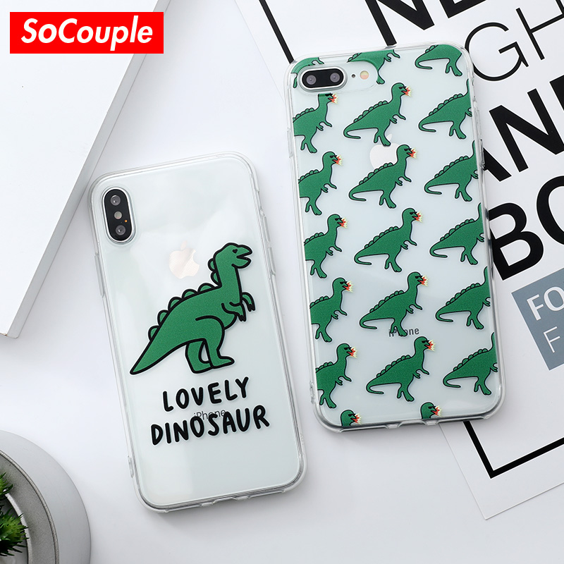 SoCouple For iPhone 6 case 6S 7 8 Plus X Xs max XR Cute
