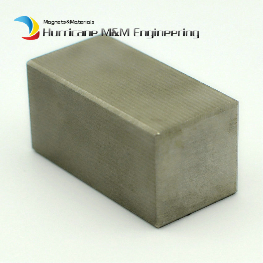 1pc SmCo Magnet Block 50x25x25 mm about 2 Bar YXG28H 350 Degree C High Temperature Motor Magnet Permanent Rare Earth Magnets 1pc smco magnet block 3 x1 x1 customized 76 2x25 4x25 4 mm yxg28h 350 degree c high temp strong permanent rare earth magnets