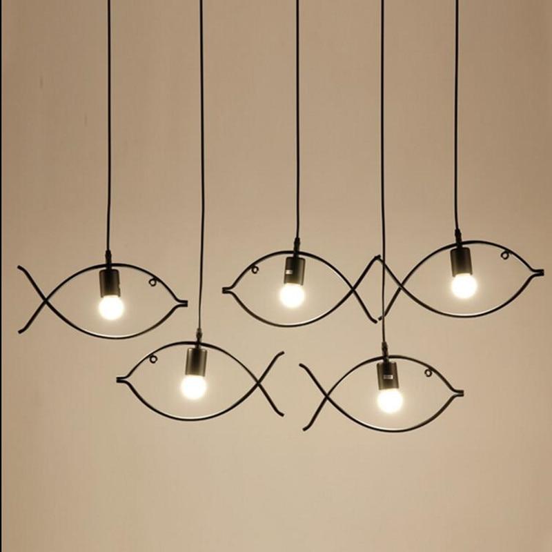 retro pendant light indoor lighting vintage led lights metal iron