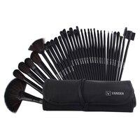 32Pcs Brushes Set Professional Soft Makeup Foundation Brush For Eye Face Shadows Lip Liner Powder Make