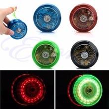 Cute Light Up YoYo Ball for Magic Juggling Toy Fancy Moves Flashing LED Random Color