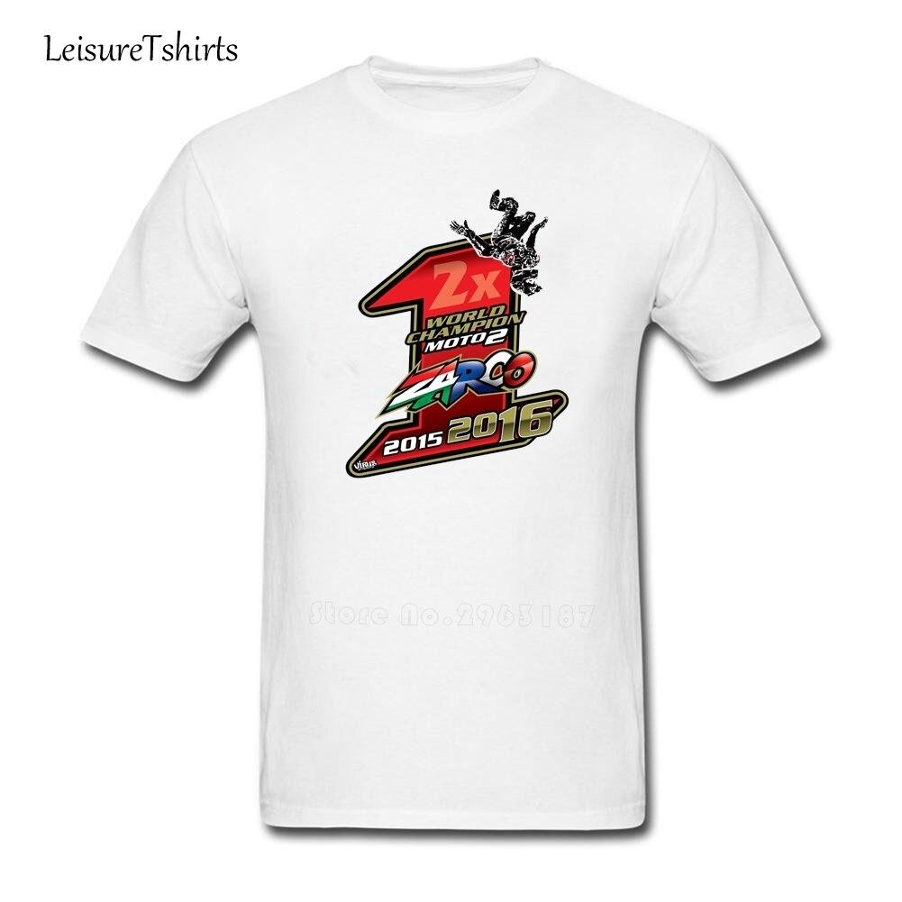 Johann Zarco T Shirt Motogp Guys Tee Shirt 2018 Summer Comfortable T Shirts Johann Zarco Man ...