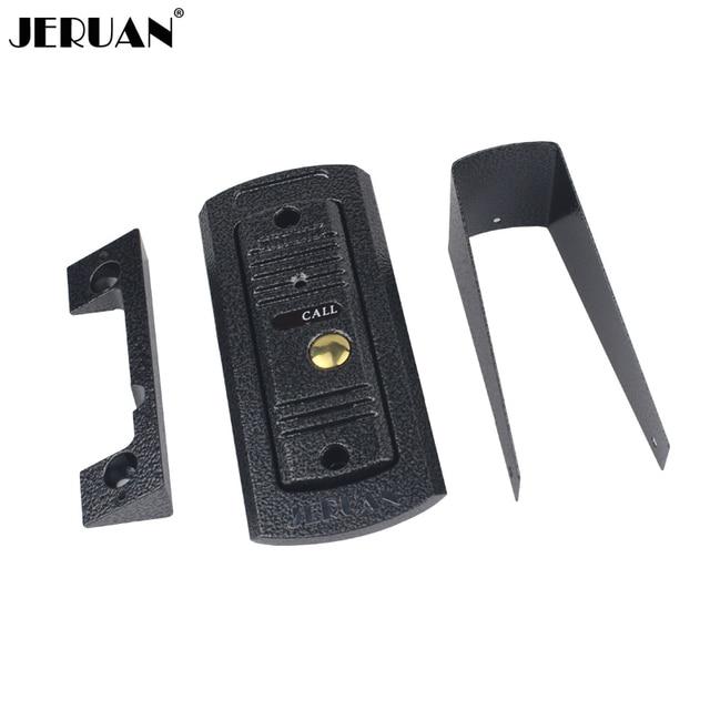 JERUAN Outdoor video door phone IR pinhole Camera waterproof doorphone C9 free shiipping