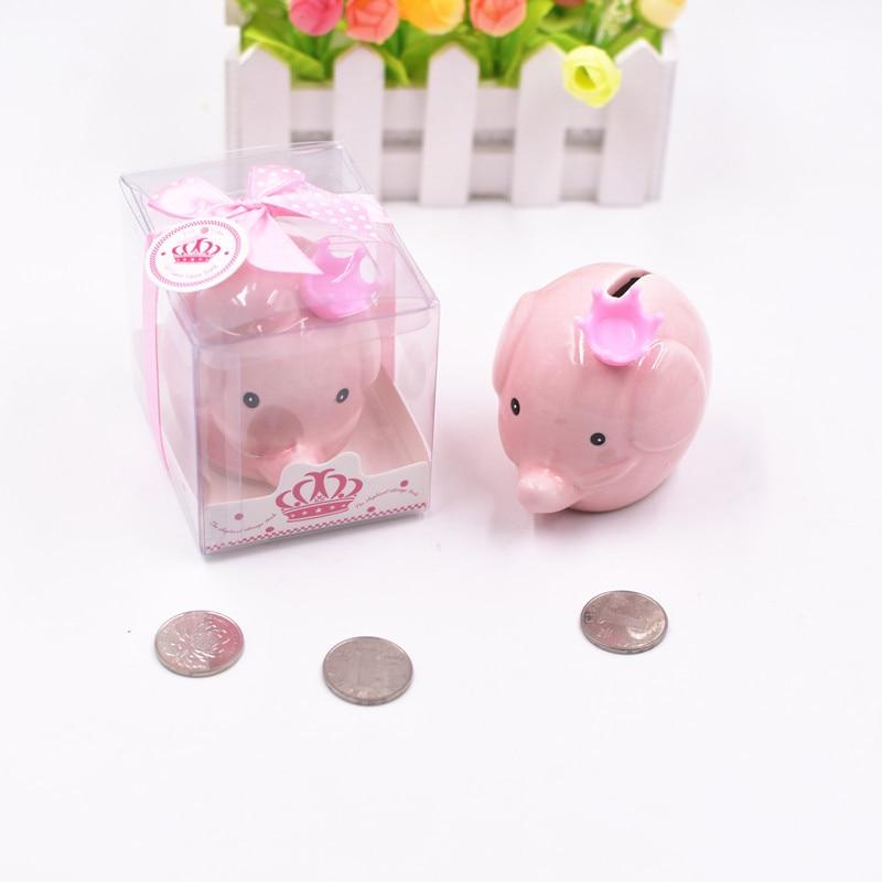 Cute Ceramic Keepsake Piggy Bank Saving Cash Coin Money Box Children Toy Kids Gifts Home Collection Decorative Money Box