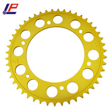 LOPOR 47T Gold color Motorcycle Rear Sprocket For BMW F800 R F800R K73 2009 2010 2011 2012 2013 2014 2015 New(China)