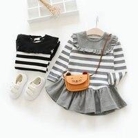 Winter Girl Dress Children Princess Autumn O Neck Long Sleeve Kids Clothes Mini Dresses For Girls