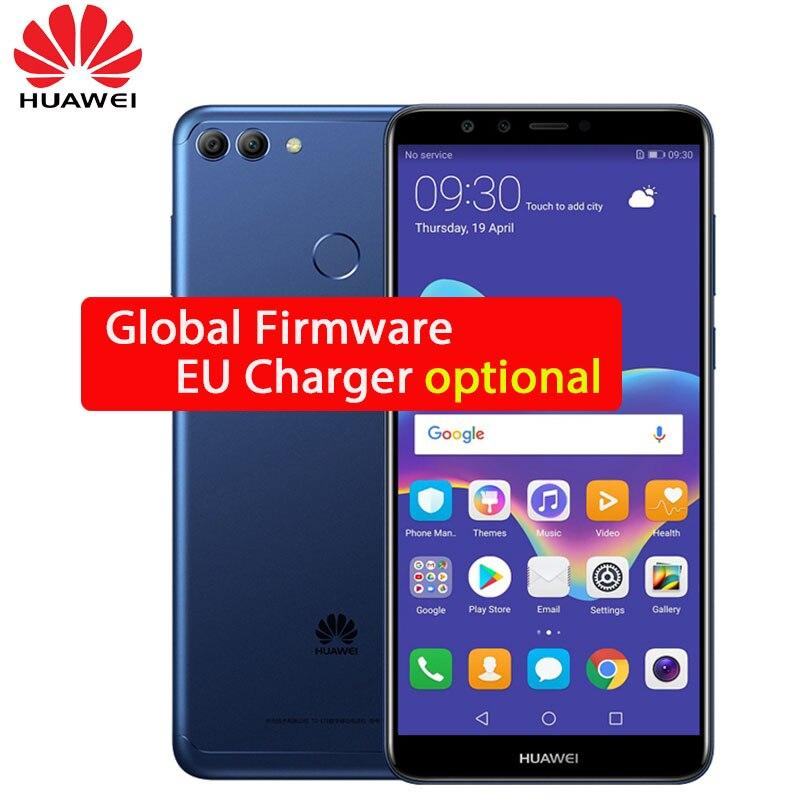 Global ROM huawei Y9 2018 Наслаждайтесь плюс 8 Octa core 5,93 дюймов 2160*1080 P 4 камеры 4000 мАч отпечатков пальцев ID Face ID 3 слота OTA обновление