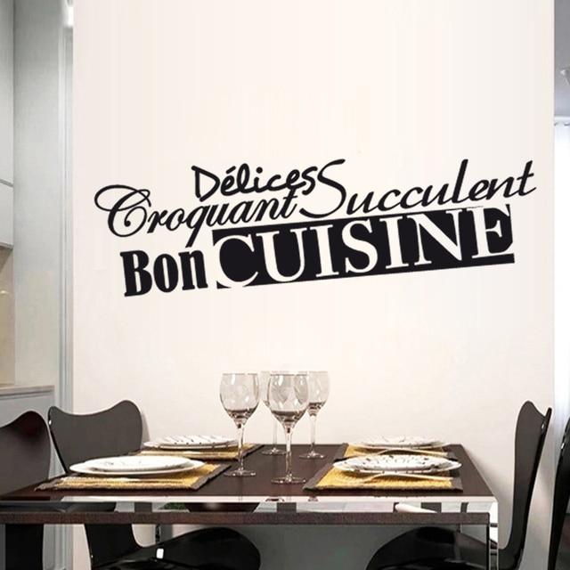 Französisch küche Sprüche Kunst Aufkleber Restaurant Küche ...