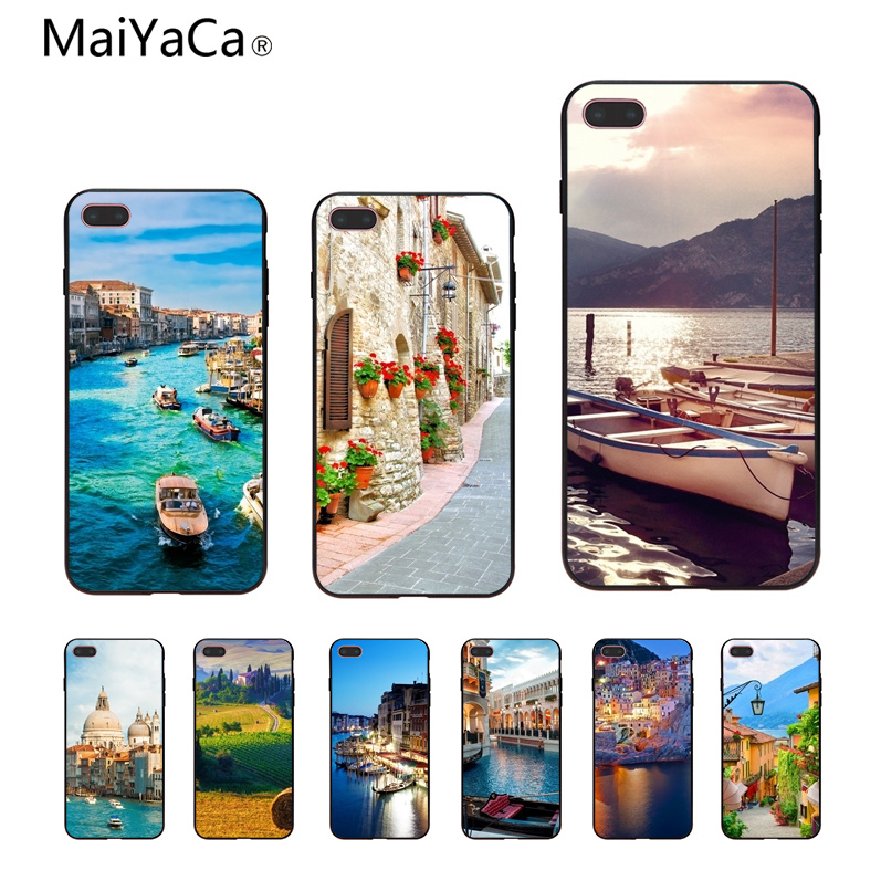 MaiYaCa Floating city Painted cover Style Design Cell Phone Case For iphone 8 8plus 7 7plus 6 6plus 5 5s 5c SE Mobile cover