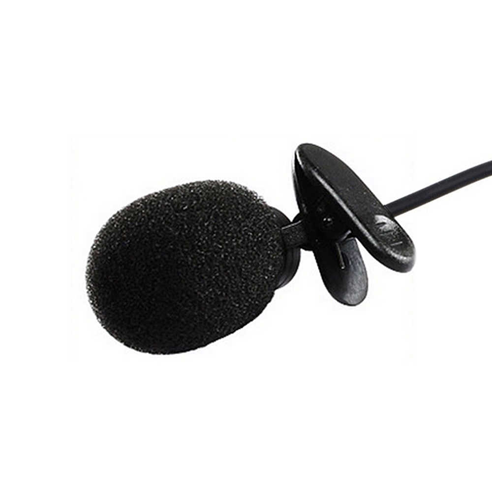 ポータブル外部 3.5 ミリメートルハンズフリーミニ有線襟クリップラペルラベリアマイクロホンラップトップ Pc 用 Lound スピーカー