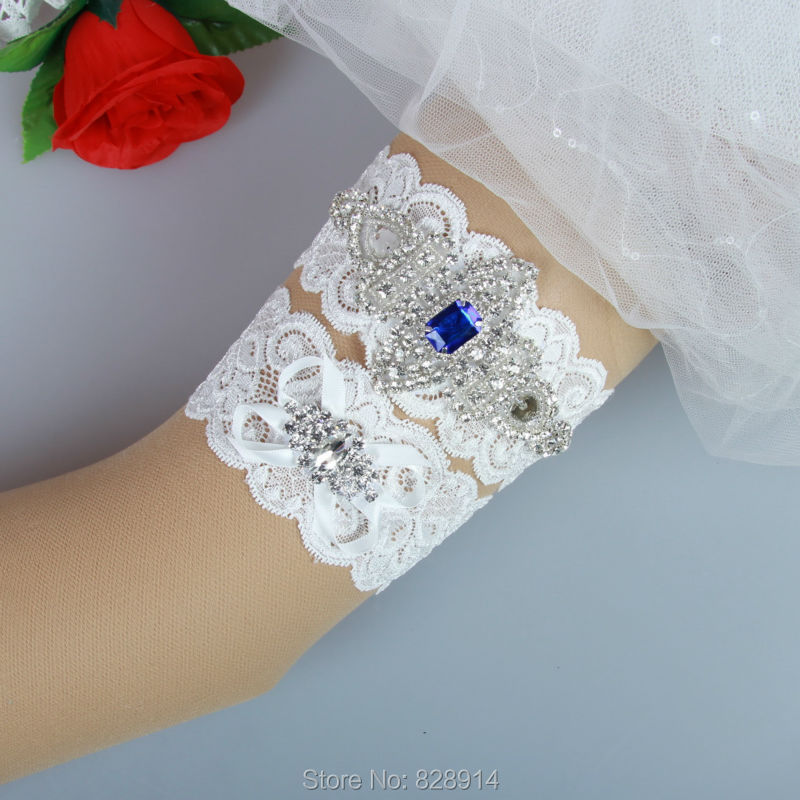 Where To Buy A Garter For Wedding: Aliexpress.com : Buy Luxury Crystal Applique Lace Wedding