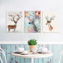 Фотография Ins Simple Art Painting Poster on Canvas for Home Decoration, Wall Decor, Living Room Decor,  Ins Style Decor