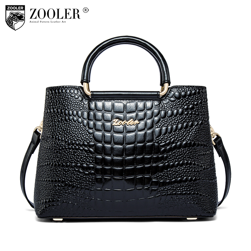 Zooler genuine leather bag designer handbags high quality bags handbags women famous brands shoulder bag women shoulder bag-C161 цена 2017
