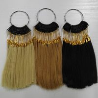 6inch Human Hair Color Ring For Salon Hair Color Chart Natural Black Color Light Brown Color