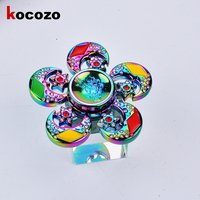 Newest Hot Sales Multi Color Hand Spinner Gyro Finger Spinner Finger Spinner Fidget Anxiety Stress Relief